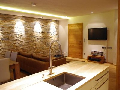 Photo for Stunning Modern Apartment - Perfect for Ski, Golf & Sightseeing