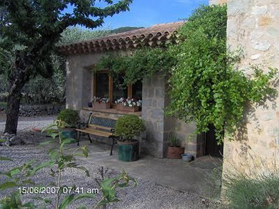 Photo for Traditional Provencal stone villa, with pool, set in the countryside.