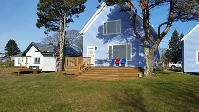 Main house + 2 Seaside cottages on property to rent for extended family.