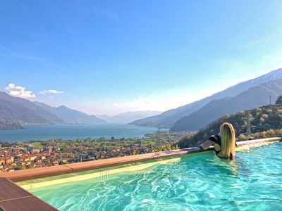 Photo for » Wild and romantic nestled between grapevines and fruit trees with spectacular views  » living in modern Italian style with an individual atmosphere