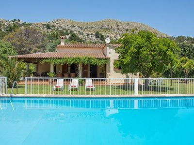 Photo for 2 bedroom Villa, sleeps 6 in Port de Pollença with Pool, Air Con and WiFi