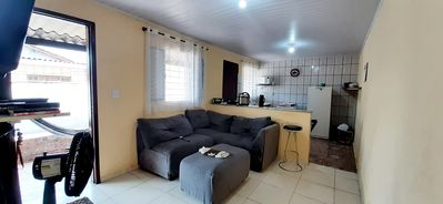 Photo for Simple House, 1 bedroom, living room, kitchen 500 meters from the beach