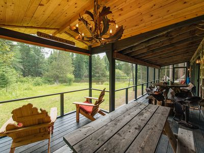 Photo for 3BR Cabin Vacation Rental in Grayling, Michigan