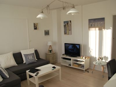 Photo for 4 beautiful appt F3 comfortable, on the Seine, parking, cathedral view in Rouen