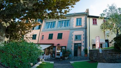 Photo for A modern townhouse in Varenna situated on the waterfront of Lake Como