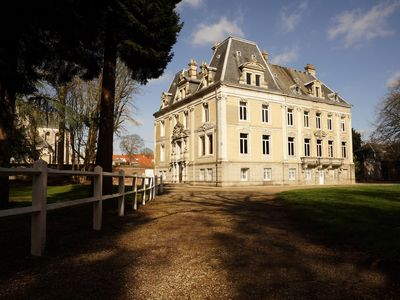 Photo for Glorious Chateau, 30 minutes from the Channel Tunnel, that sleeps 26 in style