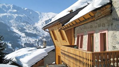 MERIBEL-CENTRE - CHARMING CHALET FOR 12 GUESTS, 3MN WALK TO MOREL LIFT & SLOPES