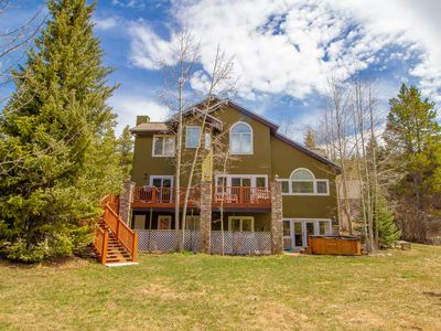 Photo for Brooks Hill Lodge Home Hot Tub Breckenridge Colorado Vacation Rental