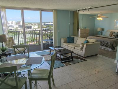 Photo for SUMMER RATES!  Lovely 8th Floor Estero Beach And Tennis Club Condo w/ Resort Sized Heated Pool