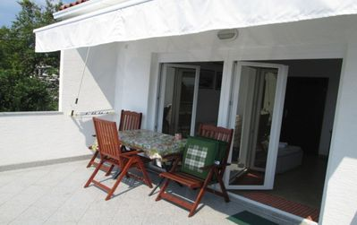 Photo for Apartment Dinka  A2(2+1)  - Omisalj, Island Krk, Croatia