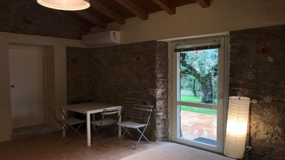 Photo for Offer new and independent studio with comfortable garden by the sea.