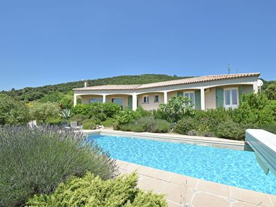 Photo for Beautiful villa on a hill, wide views of the environment.