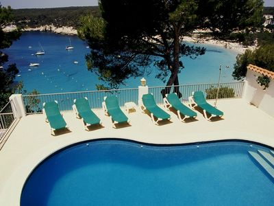 Photo for Cala Galdana Villa, Sleeps 8 with Pool, Air Con and WiFi