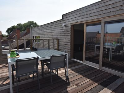 Photo for Luxurious Apartment in West Flanders With Roof Terrace