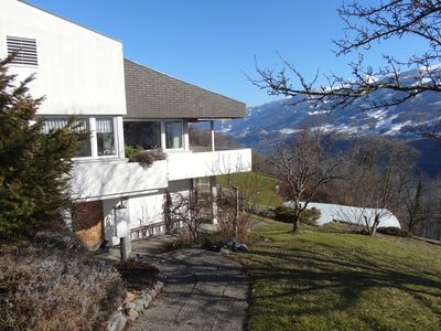 Photo for 1½ rooms Apartment with unique lake and mountain views