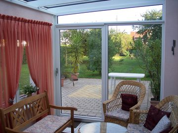 Charming cottage with conservatory in Bayreuth on the eastern outskirts