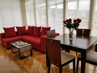 Photo for Wonderful view of the city, very comfortable place with 2 bedrooms