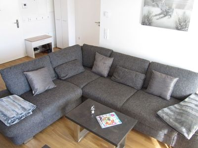 """Photo for Modern Apartment """"Moin am Meer"""", with Balcony & Wi-Fi; Garage Available"""
