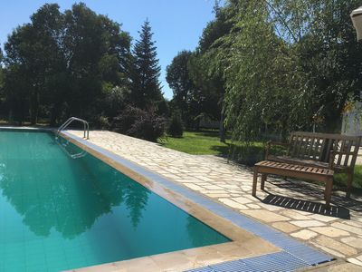 Photo for FAMILY AND FRIENDS PARADISE , A LUXURY VILLA WITH EXTERNAL POOL IN NATURE