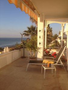 Photo for Beach Front Apartment  in New Golden Mile Near Puerto Banus