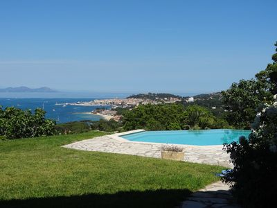 Photo for Superb sea view Sinopolis Gassin at the entrance of St Tropez