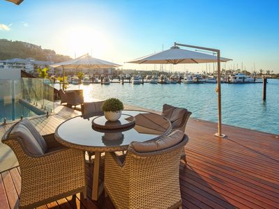 Photo for Pristine waterfront luxury house - overlooking Marina