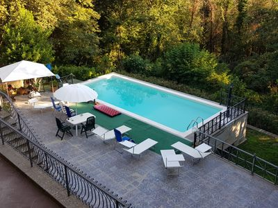 Photo for Confidentiality, tranquility and relaxation just a stone's throw from Rome in the Parco dei Castelli Romani