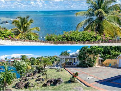 """Photo for Charming villa, """"feet in the water"""", panoramic sea view"""