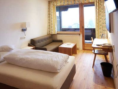 Photo for Single room bath / toilet, balcony lake side - Activ-Hotel Föttinger
