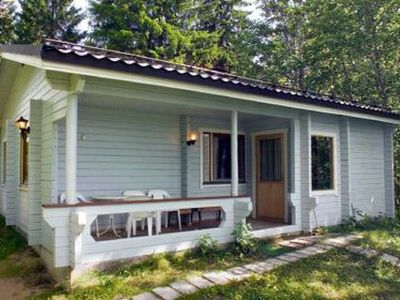 Photo for Vacation home Vaikon loma ja lohi  in Kaavi, Pohjois - Savo - 5 persons, 2 bedrooms