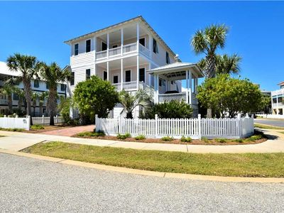 Photo for STEPS from the BEACH! UPDATED elegant vacation home w/ PRIVATE BEACH ACCESS! 🏖️