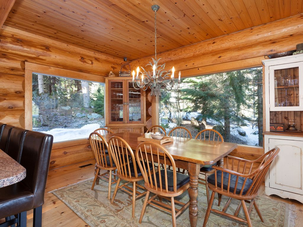 Beautiful 5 bedroom log home with spectacular views for 5 bedroom log homes