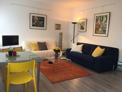 Photo for Apartment F2, comfortable and bright, well located