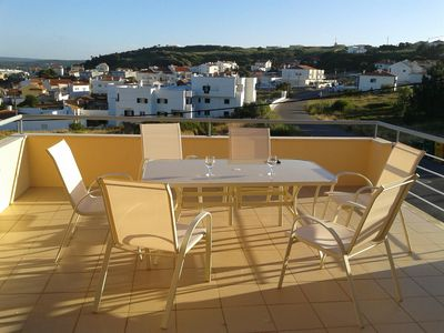 Photo for Large Town House with shared pool and views of Obidos Lagoon