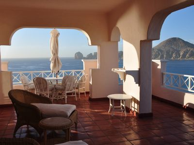 Photo for Stunning Oceanfront Developers Penthouse at Pueblo Bonito Rosé.