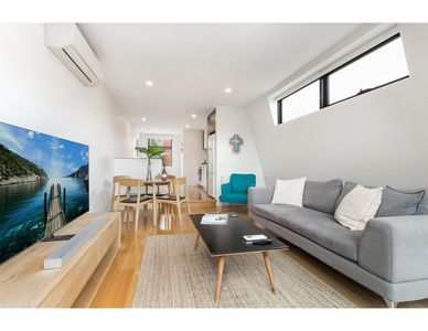 Photo for Light-filled modern townhouse steps from MCG