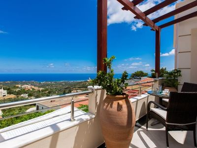 Photo for House in the center of Roussospiti with Internet, Pool, Air conditioning, Parking (488705)