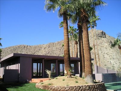 Photo for Palm Springs Desert Estate - Private Tennis Court, Pool & Spa, Golf, Big Groups