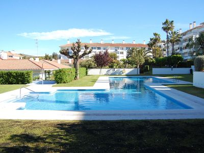 Photo for Balmins - SWIMMING POOL and SEA VIEW Sitges Apartment
