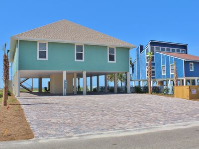 Photo for Farr Away Living - 4 Bed / 4 Bath Gulf Front Home w/ Elevator