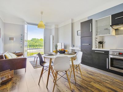 Photo for Lovely one-bedroom apartment overlooking Nive in Bayonne - Welkeys