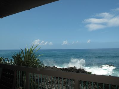 View from the condo's lanai
