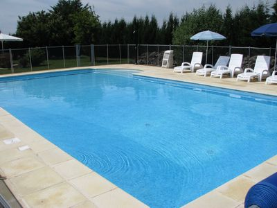 Photo for Beaurepaire - La Grange: Gite (country Cottage) for 6 people with swiming pool.