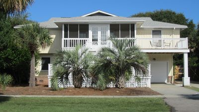 Photo for Perfect Oceanview Home, Private Pool, Beach Access Right Across the Street