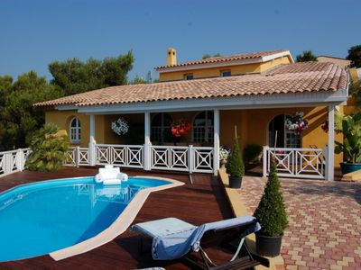 Photo for BEAUTIFUL VILLA 250m2 IN THE SUN WITH FULL SOUTH POOL