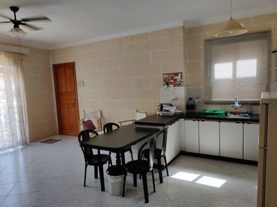 Photo for Bright Spacious Three Bedroom Apartment Xlendi