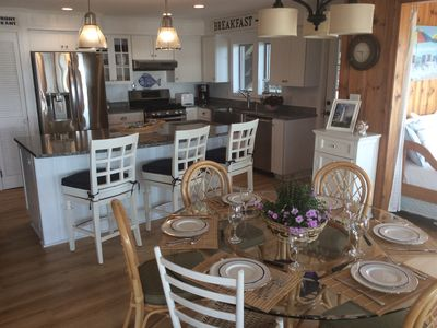 Photo for WATERFRONT-PRIVATE BEACH-GOURMET KITCHEN-OFF SEASON RATES