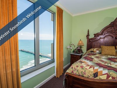 Photo for Winter Snowbirds - Call for Special Rates! Corner Oceanfront. $99 Deposit Special.