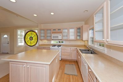 Spacious kitchen with all the amenities.