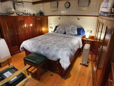 Photo for A permanently moored  House Boat